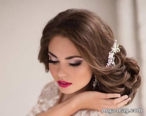 مدل میکاپ زیبا و شیک عروس