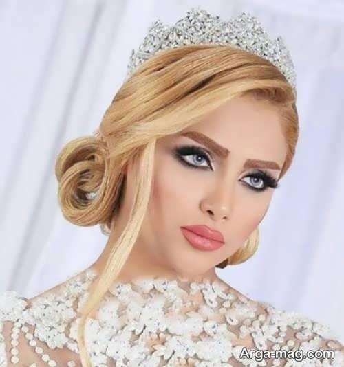 مدل آرایش عروس 2018 زیبا و حرفه ای