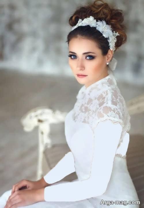 مدل میکاپ شیک و جدید عروس