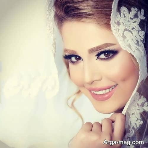 آرایش لایت و زیبا عروس