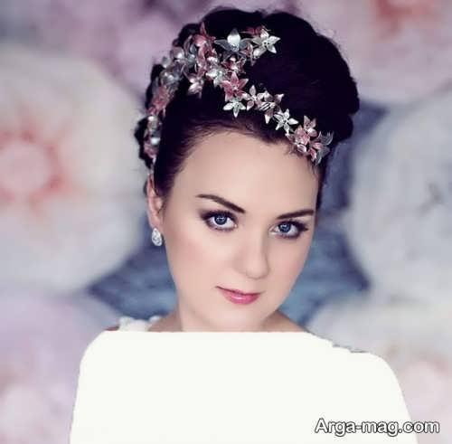 مدل موی جدید و جذاب عروس