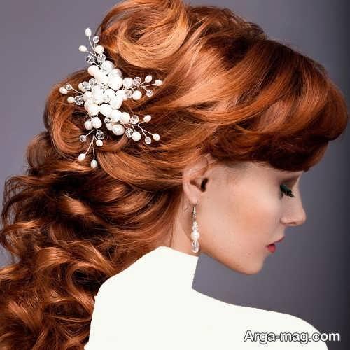 مدل موی شیک و متفاوت برای عروس