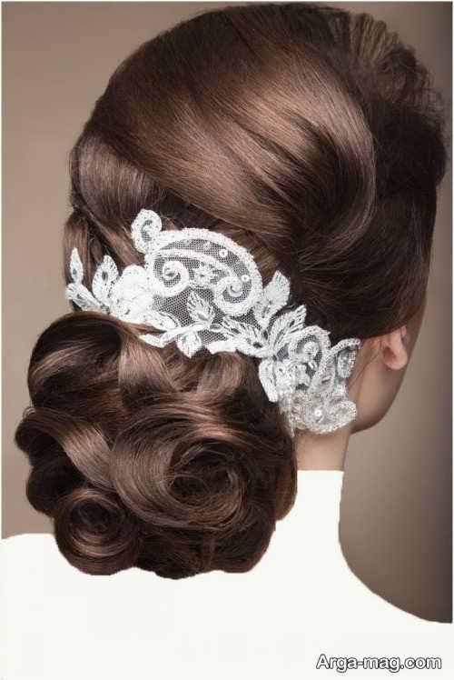 مدل موی بسته و زیبا عروس