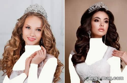 مدل موی باز و زیبا عروس