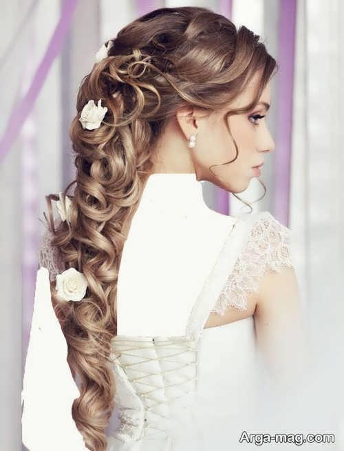 مدل موی فر عروس