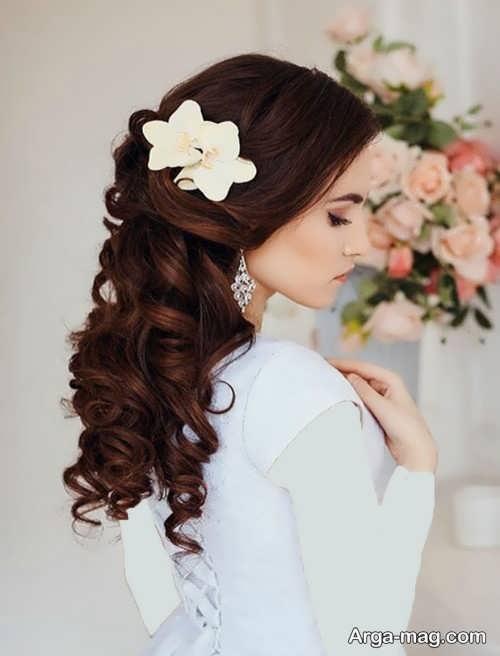 مدل موی باز و شیک عروس