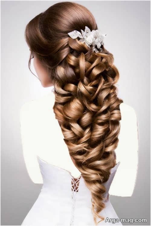مدل موی شیک و متفاوت عروس