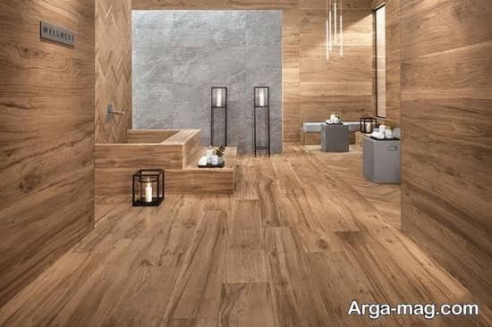 سرامیک شیک مدل چوب