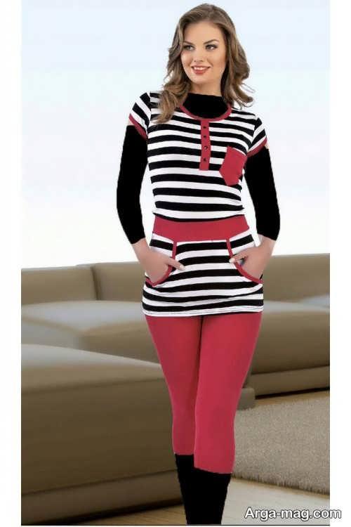 مدل لباس راحتی و شیک زنانه