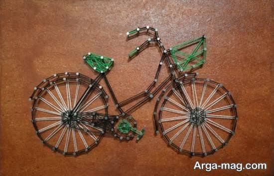 کاردستی دوچرخه