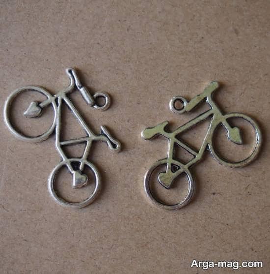 کاردستی جالب دوچرخه فلزی