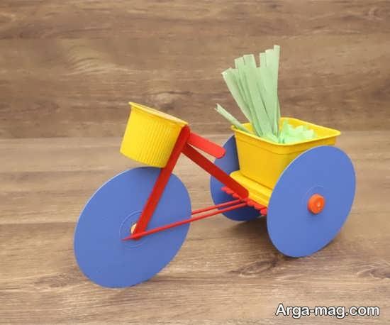 ساخت دوچرخه پلاستیکی