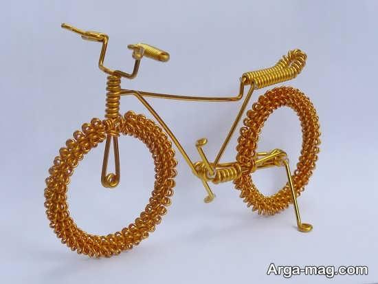 کاردستی دوچرخه فلزی