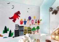 تزیینات زیبا نمدی اتاق کودک