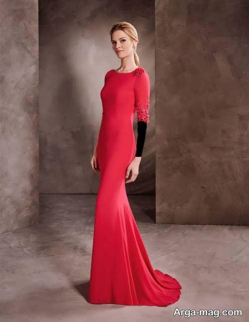 مدل لباس مجلسی زیبا و شیک پوشیده