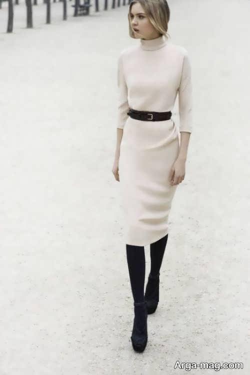 مدل لباس مجلسی سفید 2018