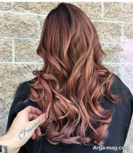 رنگ موی شیک و متفاوت نسکافه ای