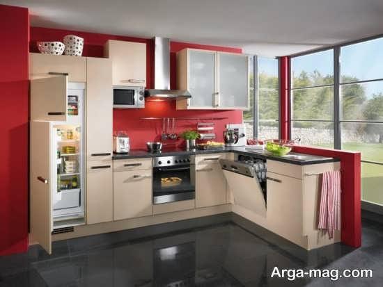 دکوراسیون آشپزخانه اروپایی