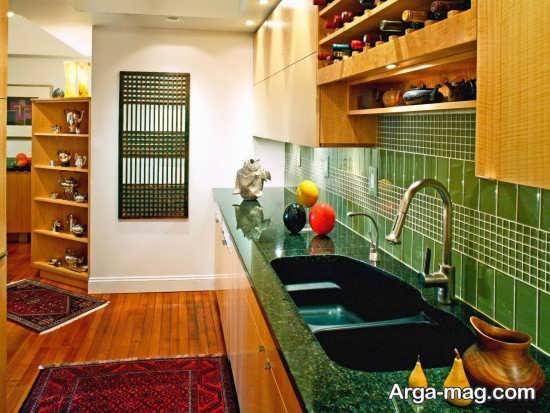طراحی عالی آشپزخانه اروپایی