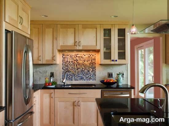 طراحی متفاوت آشپزخانه مدرن اروپایی