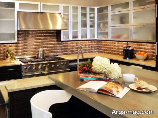 دکوراسیون متفاوت آشپزخانه اروپایی
