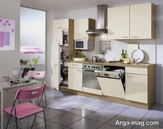 دکوراسیون شیک آشپزخانه اروپایی