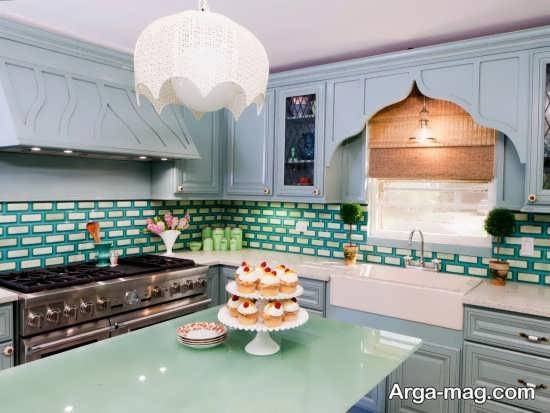 دکوراسیون مدرن آشپزخانه اروپایی