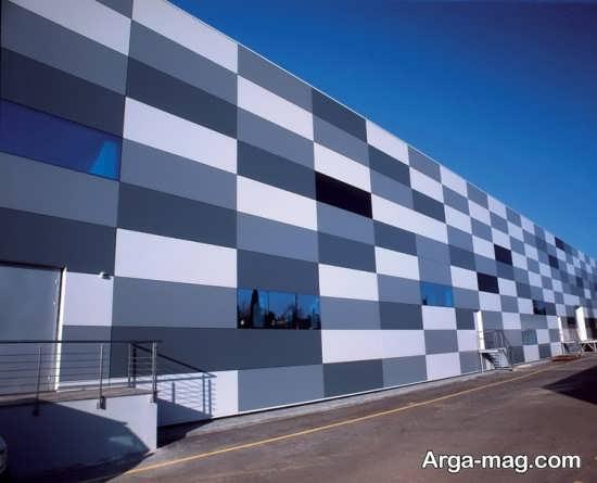 نمای ساختمان با طراحی شیک