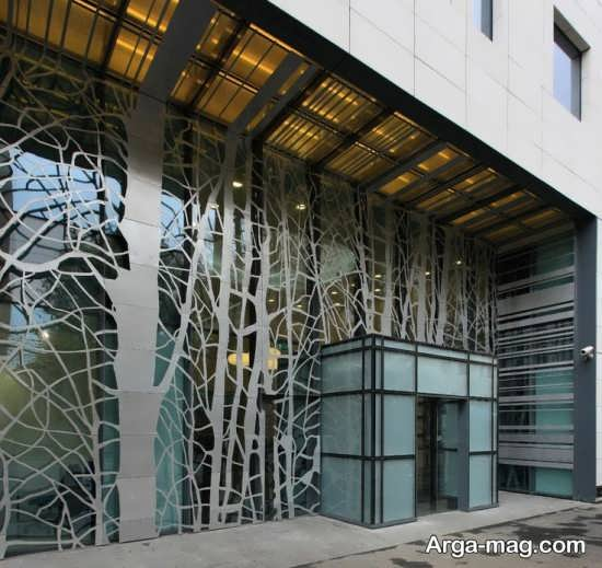 طراحی متفاوت و جالب نمای ساختمان