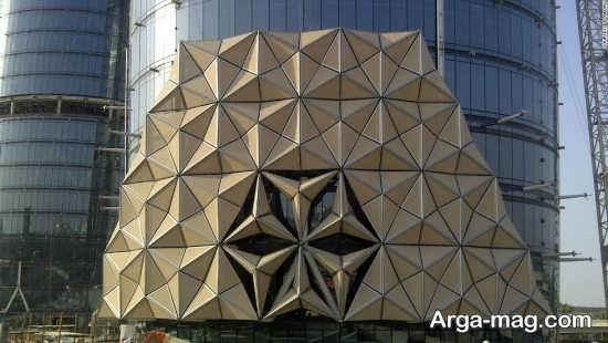 طراحی شیک نمای ساختمان