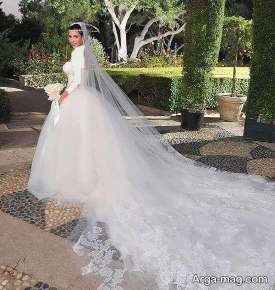 ژست زیبا و جالب عروس