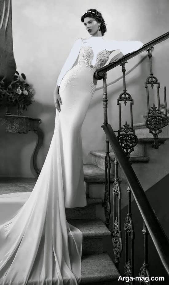 ژست جالب و متفاوت عکس عروس