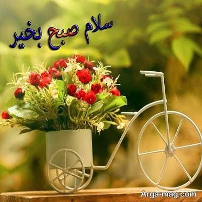عکس صبح بخیر رفیق