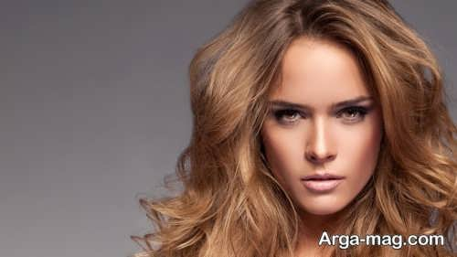 رنگ موی زنانه بدون دکلره