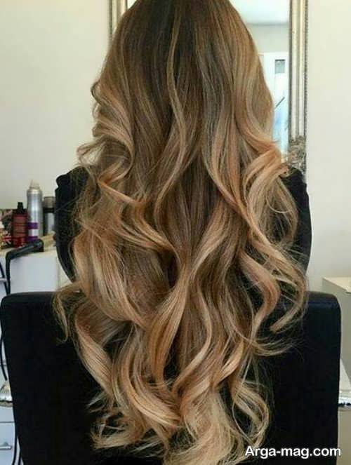 رنگ موی شیک بدون دکلره