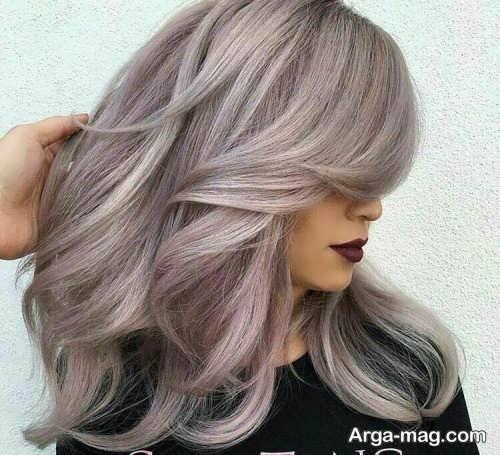 رنگ مو زنانه بدون دکلره