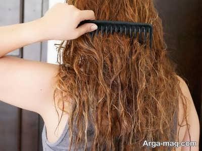 ماسک مو راه حل موهای خشک