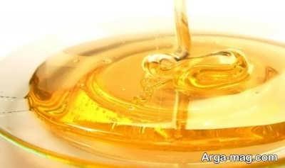 عسل در ماسک موی خشک
