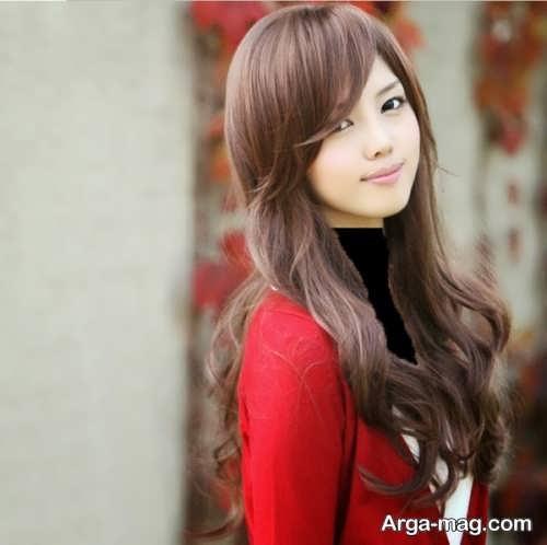 مدل موی کره ای و شیک دخترانه