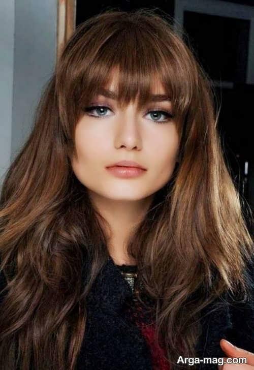 مدل موی چتری دخترانه 2018