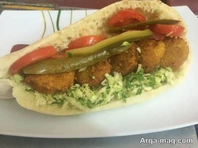 ساندویچ کتلت لاهیجان