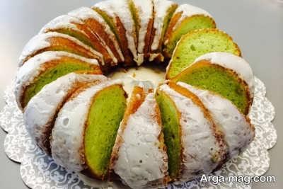طرز تهیه کیک پسته ای خوشمزه