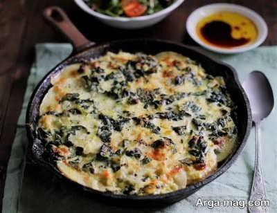 دستور تهیه گراتن مرغ و سبزیجات