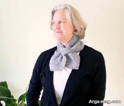 متفاوت ترین روش بستن دستمال گردن زنانه