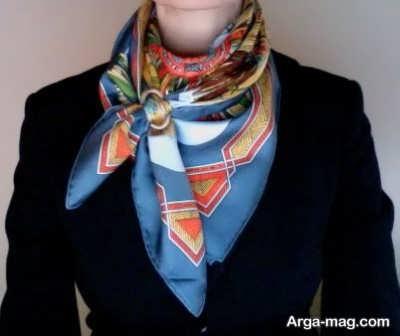 بستن دستمال گردن زنانه با روشهای تماشایی