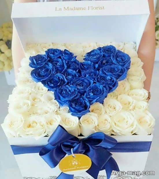 مدل تزئین گل رز ولنتاین