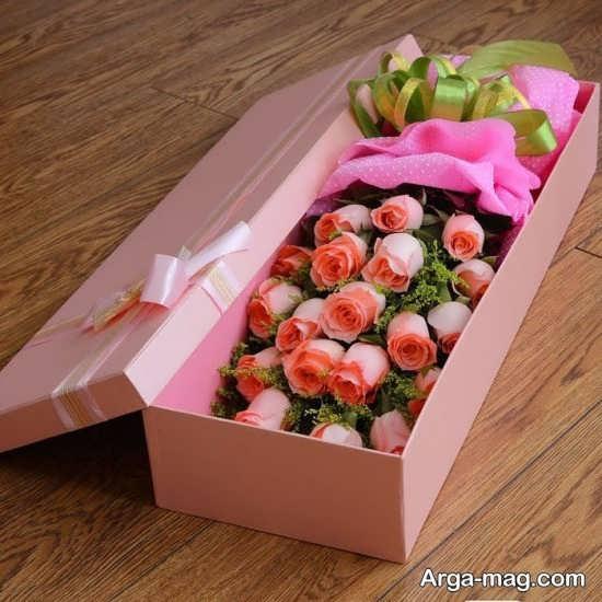 تزئین مخصوص جعبه گل