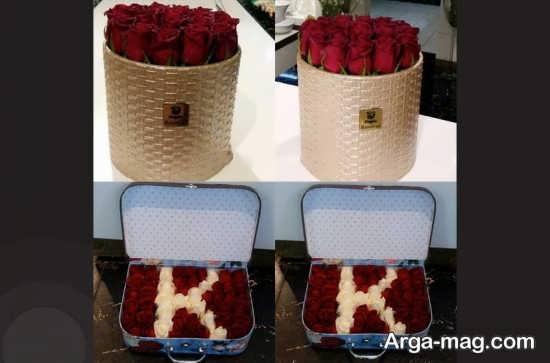 گل آرایی جعبه کادویی