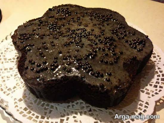تزیین کیک بدون خامه