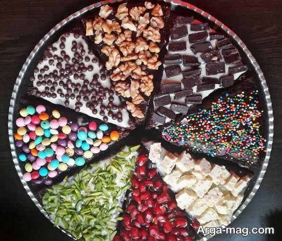 تزئین متفاوت و زیبای کیک